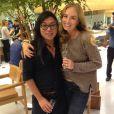 No Instagram, Celso Kamura foi só elogios a sócia, Angélica