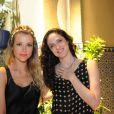 Juliana Didone e Bianca Byington estão no elenco de 'Pecado Mortal', próxima novela da Record, apresentada à imprensa nesta terça-feira, 10 de setembro de 2013