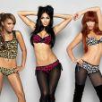 Nicole Scherzinger (meio), que integrava o grupo Pussycat Dolls, agora segue carreira solo. Recentemente, ela lançou um clipe