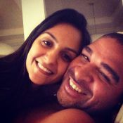 Adriano Imperador termina noivado com Renata Fontes, grávida de quatro meses