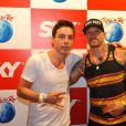 Di Ferrero curte 5º dia de shows do Rock in Rio e aproveita para fazer tatuagem com o famoso tatuador americano Ami James, nesta sexta-feira (20)