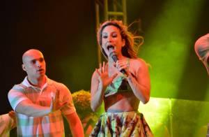 Claudia Leitte retorna a Recife após gravação do DVD: 'Quase morri de emoção'