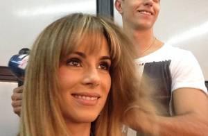 Ana Furtado aparece mais loira e com franja: 'Pronta para os 40 e para o verão'
