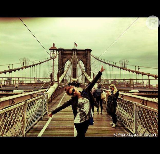 Paloma Bernardi roda curta-metragem 'Hearing Heart' em Nova York em setembro de 2013