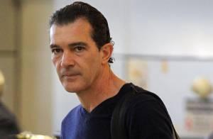 Antonio Banderas desiste de viagem ao Brasil em outubro por falta de agenda