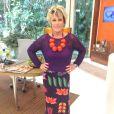 Ana Maria Braga é a presentadora do 'Mais Você', da TV Globo