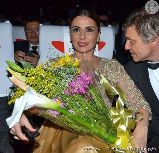 Giovanna Antonelli foi apresentadora do Fetsival de Cinema do Rio