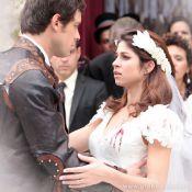 Último capítulo de 'Saramandaia': após se casar com Gibão, Marcina leva um tiro
