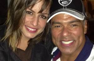 Maurício Mattar está namorando Bianca Andrada, que conheceu durante Rock in Rio