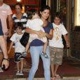 Vanessa Giácomo é mãe de Raul, de 5 anos, e Moisés, de 3, frutos de seu relacionamento anterior com o também ator Daniel de Oliveira
