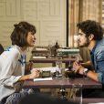Michel (Caio Castro) diz que vai largar Silvia (Carol Castro) para ficar com Patrícia (Maria Casadevall), em em 'Amor à Vida'