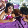 Michel (Caio Castro) e Patrícia (Maria Casadevall) dormiram juntos na mesma noite em que se conheceram, em 'Amor à Vida'