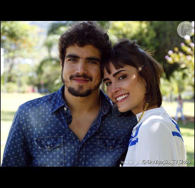 Relembre as idas e vindas de Patrícia (Maria Casadevall) e Michel (Caio Castro) em 'Amor à Vida', em 3 de outubro de 2013