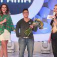 Thammy Miranda foi pedida em casamento pela namorada Nilceia Oliveira no programa 'Eliana'
