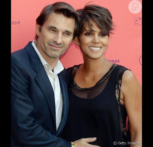 Halle Berry deu à luz ao segundo filho, fruto da união com o ator Olivier Martinez