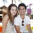 Gabriel Falcão nega romance com Bianca Salgueiro: 'Não procede', disse ao Purepeople em 7 de outubro de 2013