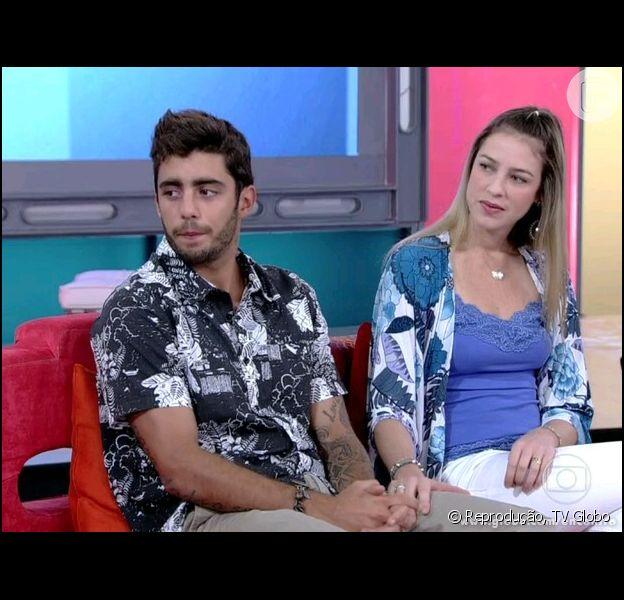 Luana Piovani e Pedro Scooby participaram do 'Encontro com Fátima Bernardes' em 9 de outubro de 2013