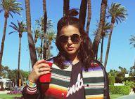 Bruna Marquezine brinca ao mostrar fotos no Coachella: 'Não gostou manda vírus'