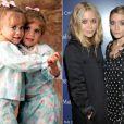 As gêmeas Mary-Kate e Ashley Olsen estão sempre juntas, desque pequenas, seja nas séries de televisão, filmes, ou nos negócios - especial Dia das Crianças, 12 de outubro de 2013