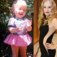 Angélica já exibia o carisma e a famosa pinta na perna esquerda, desde pequenina - especial Dia das Crianças, 12 de outubro de 2013