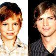 O ator Ashton Kutcher, namorado de Mila Kunis, na época em que ainda era pequenino - especial Dia das Crianças, 12 de outubro de 2013