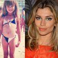 A atriz Grazi Massafera, mulher de Cauã Reymond, já gostava de praia desde pequena - especial Dia das Crianças, 12 de outubro de 2013