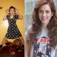 A atriz Sophia Abrahão era uma criança ruivinha e espivitada - especial Dia das Crianças, 12 de outubro de 2013