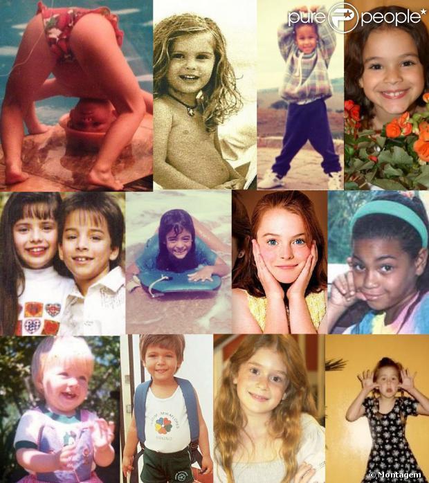 Especial Dia das Crianças - sábado, 12 de outubro de 2013 - Veja fotos de 50 famosos quando ainda eram pequeninos