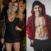 Irmã de Neymar prestigia show de Biel, mas nega namoro: 'É amiga da ex dele'