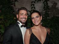 Cauã Reymond e a namorada, Mariana Goldfarb, jantam com os pais da modelo no Rio
