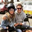Giovanna Antonelli e Leonardo Nogueira em viagem a Portugal