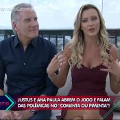 Roberto Justus fala do ciúme de Ticiane Pinheiro com a filha: 'Sofre com isso'