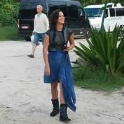 Bruna Marquezine vira fotógrafa nos bastidores do filme 'Rio-Santos': 'Estrada'