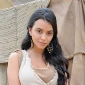 Atriz de 'Os Dez Mandamentos' lamenta amor impossível de Damarina: 'Sofro junto'