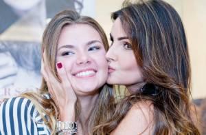 Semelhança entre Lisandra Souto e filha de 16 anos, Yasmin, chama atenção. Fotos