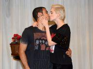 Sophia Abrahão beija o namorado, Sérgio Malheiros, antes de show em São Paulo