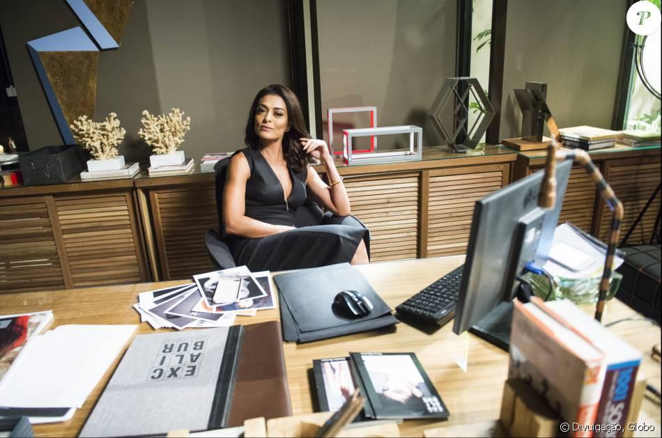 Carolina (Juliana Paes) terá final feliz em 'Totalmente Demais'. A jornalista encontrará um novo amor