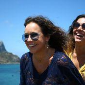 Veja fotos da viagem de lua de mel de Daniela Mercury e Malu Verçosa em Noronha