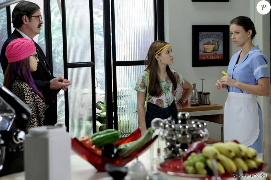 Laura (Camila Demaman) vai descobrir que Isabela (Larissa Manoela) tem uma  irmã 992aefc216
