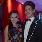 Larissa Manoela e João Guilherme Ávila vão ao aniversário de 18 anos de MC Gui