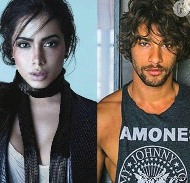Anitta negou rumores de que estaria namorando o ator Pablo Morais