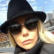 Luiza Possi nega preenchimento labial apontado em foto e explica: 'Boca inchada'