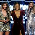 Ciara foi a anfitriã do Billboard Awards 2016 ao lado de Ludacris e usou cinco looks diferentes no palco da premiação neste domingo, 22 de maio de 2016