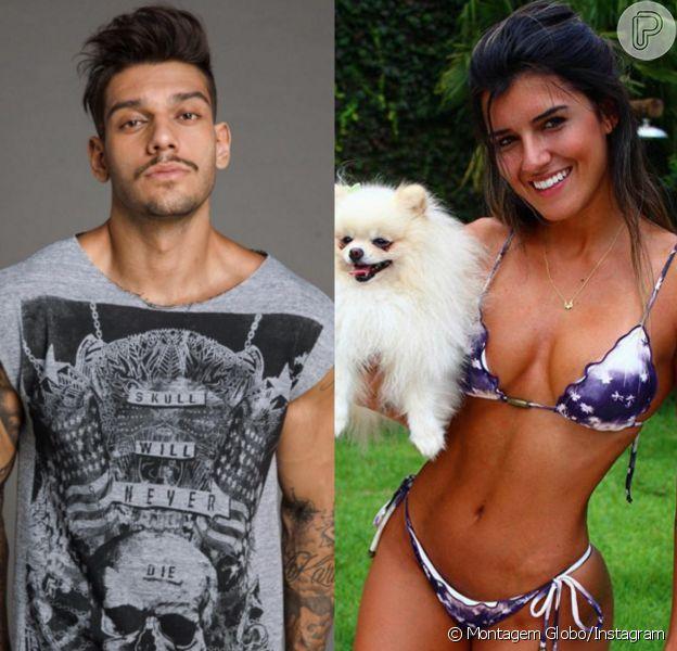 A modelo Vitória Gomes é apontada como novo affair de Lucas Lucco