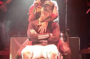 Ludmilla faz dança ousada e sensual para Biel em show e público vibra. Vídeo!