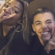 Ludmilla rebolou para Biel em um show e fez lap dance para o cantor