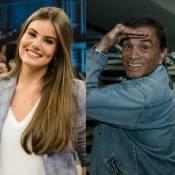 Camila Queiroz defende Dedé Santana e é criticada: 'Ator não pode ter opinião'