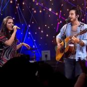 Anitta e Tiago Iorc fazem dueto no 'Música Boa ao Vivo' e web elogia: 'Demais'