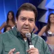 Faustão pede 'Truque Vip' menos arriscado após Rafael Vitti escapar de acidente