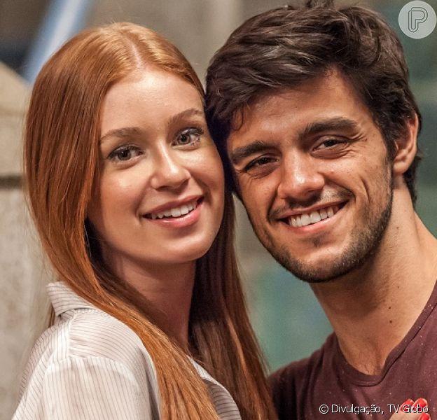 Jonatas (Felipe Simas) fecha negócios para a Bastille ao acompanhar Eliza (Marina Ruy Barbosa) em viagem para Paris, na novela 'Totalmente Demais'